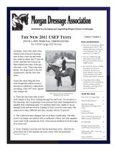 January 2011 Newsletter